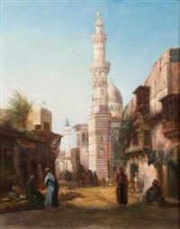 mosquée du sultan hassan, le caire by otto pilny