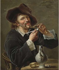 the smoker by petrus staverenus