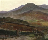 bringing home the turf: the kingdom of kerry by john lavery