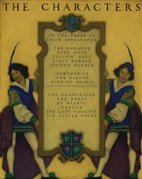 the knave of hearts: list of characters by maxfield parrish