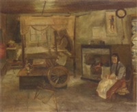 at home with the weavers by a.r. dunlop