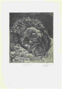 toter (st. clément) by otto dix