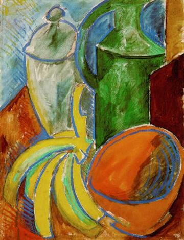 Nature morte aux bananes by Pablo Picasso on artnet