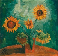 sonnenblumen by johannes fischer