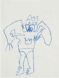 sans titre (flaid) by jean-michel basquiat