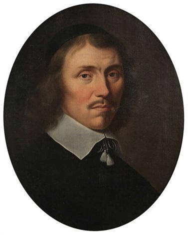 portrait dun abbé by philippe de champaigne