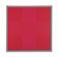 abstract painting, red by ad reinhardt