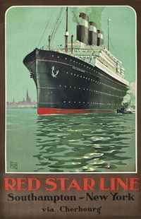 red star line, belgenland by charles alo (halo)