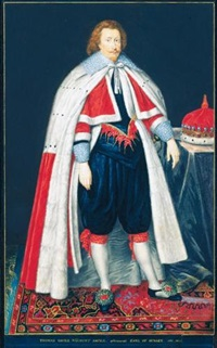 ritratto di thomas saville, visconte di savile by george perfect harding