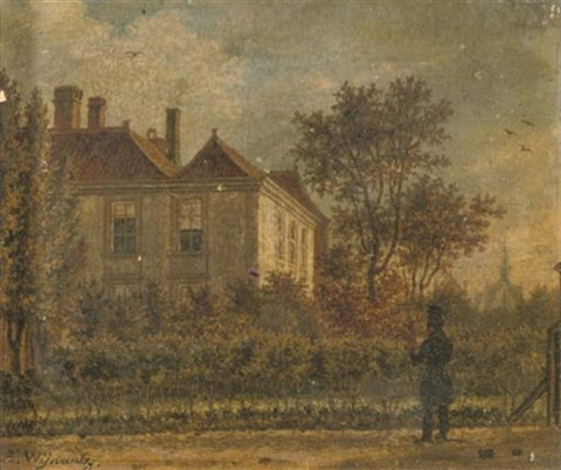 admiring the estate by augustus wijnantz