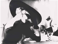 sans titre (the v-back evenings suzy parker, ny, harper's bazaar, 1955) by lillian bassman