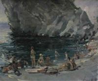 la plage de crimée by rachid adgamov