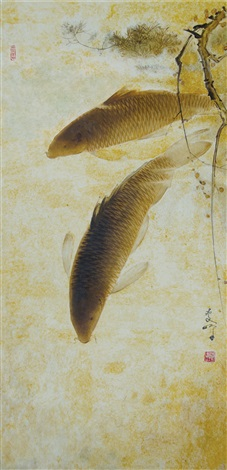 carp fish by lee man fong