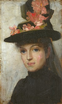 with wistful eyes by tom roberts
