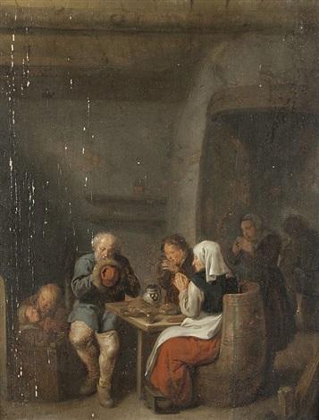 familie bei tisch by jan miense molenaer