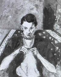 portrait de femme by joan junyer