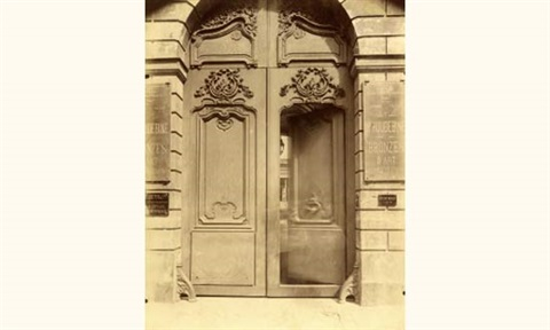 Hôtel du Président de Taulay, 64 rue de Turenne by Eugène Atget on ...
