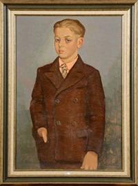portrait d'un jeune garçon by gustave camus