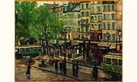 jour de pluie sur paris by georges barwolf