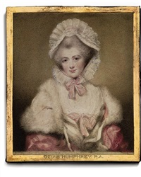 lavinia, countess spencer, née bingham (after sir joshua reynolds by ozias humphry