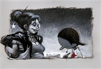 eropinocchio: pinocchio e la fatina giocano a carte by massimilano frezzato