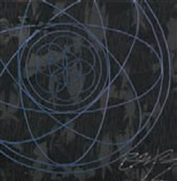 futura canvas atomic flower of life spiral (from water series) by futura 2000 & dpm:maharishi