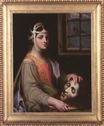 salomé avec la tête de saint jean baptiste by astolfo petrazzi