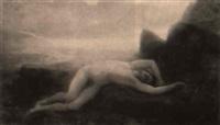 léandre roulée par les vagues by charles auguste sellier