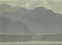 mountains and lough by mabel young