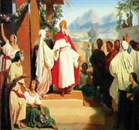 ruth et noemie by jean-baptiste auguste leloir
