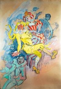 la commedia dell'arte by jules chéret