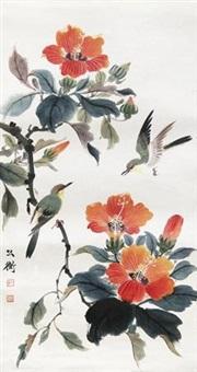 花鸟 by cai gongheng