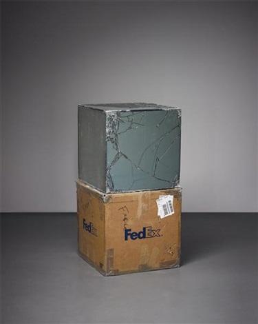 fedex® kraft box 2005 fedex standard overnight los angelesnew york trk 8675 2590 1103 by walead beshty