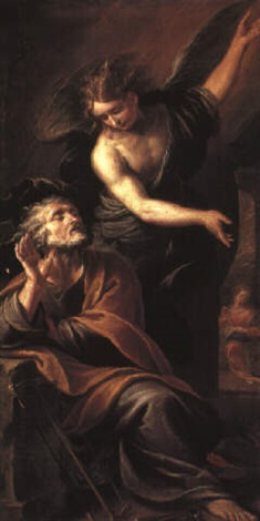 the dream of st joseph by stefano maria legnani