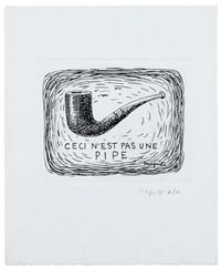 ceci n'est pas une pipe by rené magritte