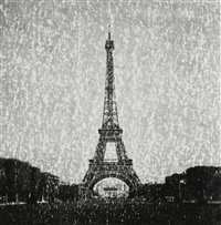LA TOUR EIFFEL (FROM THE EXPIRED SERIES), 2011
