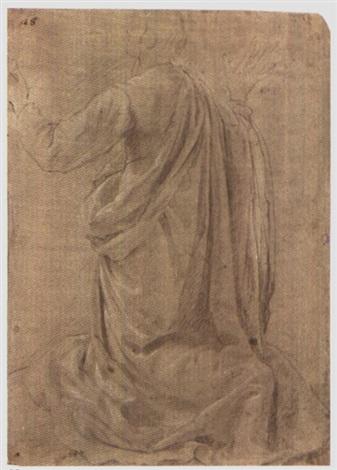 studio di figura inginocchiata by jacopo da empoli chimenti
