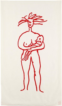 mother and child by louise bourgeois