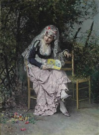 the rendezvous by raimundo de madrazo y garreta