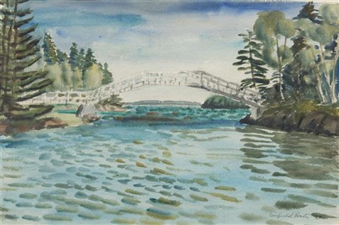 the bridge by fairfield porter