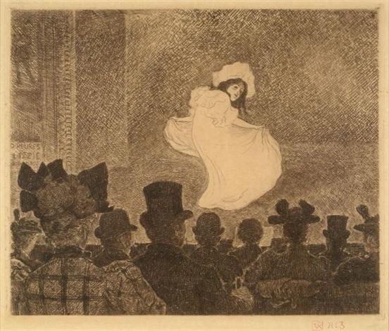le café concert by théo van rysselberghe
