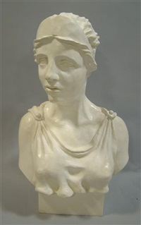 bust of sappho by andrew smith