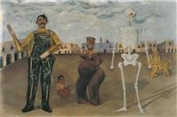 los cuatro habitantes de mexico by frida kahlo
