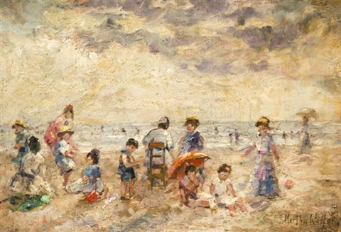 afternoon at the beach by martha walter