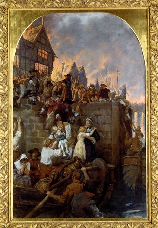 The Great Fire Of London 1666 By Stanhope Forbes On Artnet