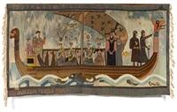 kongsdatterens skip (naviceum christinæ) by gerhard peter franz vilhelm munthe