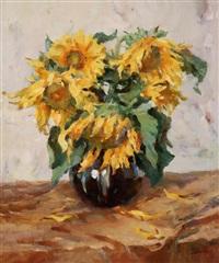 sun flower by jiang qi
