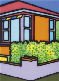 untitled (suburban house) by howard arkley