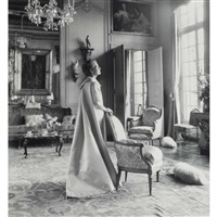 two images for harper's bazar (2 works) by cecil beaton