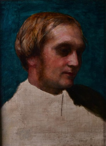 portrait of archdeacon fisher by george frederick watts